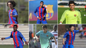 Cucurella, Mboula, Sergi Puig, Alasana Manneh, Carles Pérez y Lee podrían estar en el filial la próxima temporada