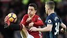 Ander Herrera se siente cómodo con el rol defensivo que le ha otorgado Mourinho