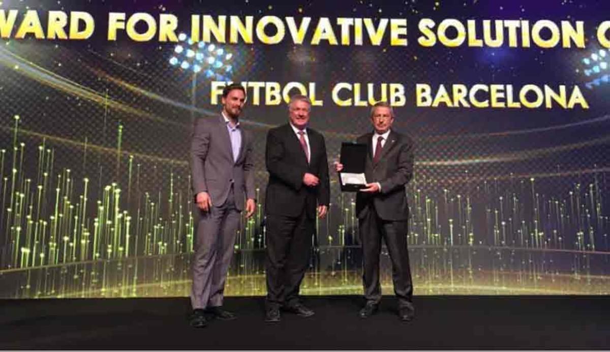 El Camp Nou fue premiado como el estadio más conectado del mundo