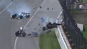 Espeluznante accidente de Dixon