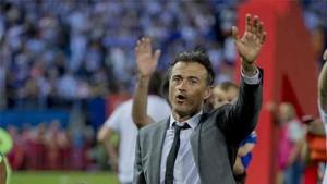 Luis Enrique se ha despedido del Barcelona