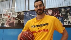 Pau Ribas, jugador del Barça