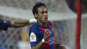 Neymar no está cómodo en el Barça