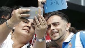 La vuelta de Sergio García ha ilusionado a la afición del Espanyol