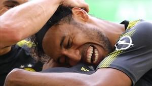 Aubameyang quiere dejar el Dortmund