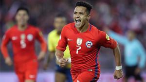 Chile derrotó a Ecuador y tiene opciones de meterse en el Mundial