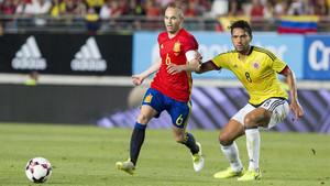 Iniesta engrosará sus cifras como internacional antes de Rusia 2018