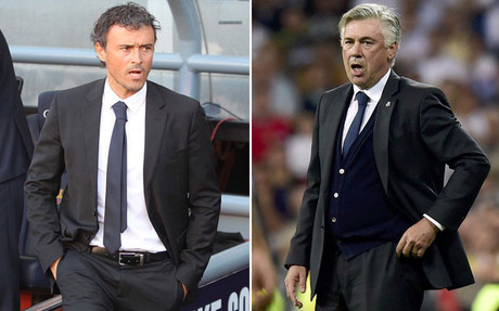 Ancelotti vs. Luis Enrique