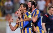 El APOEL, el equipo chipriota de habla portuguesa