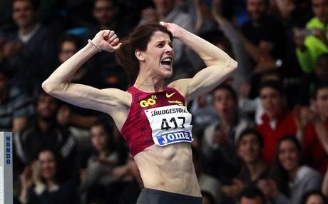 Ruth Beitia logr� en Oslo su primera victoria en la presente Diamond