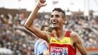 Ilias Fifa gan� la medalla de oro en 5.000 metros. La acompa�� en el podio el otro espa�ol nacionmalizado, Adel Mechaal