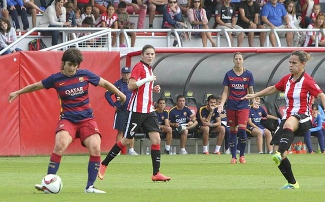 Athletic y Barça empatan en Lezama