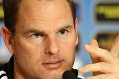De Boer ve d�ficil optar a una de las dos primeras plazas en el grupo del Bar�a.