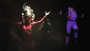 La ceremonia en Lima estuvo llena de simbolismos