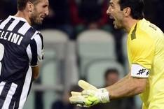 Chiellini y Buffon descendieron a la Serie B con la 'Vecchia Signora'
