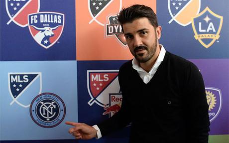David Villa fich� el verano pasado por el New York City de la MLS