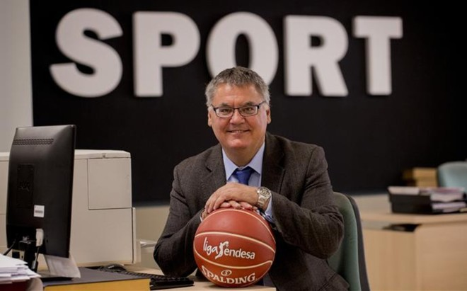 Francisco Roca, presidente de la ACB, visit� SPORT y analiz� las perspectivas de una temporada que alza el tel�n
