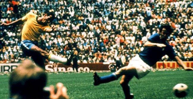El gol de Carlos Alberto en la final del Mundial de 1970