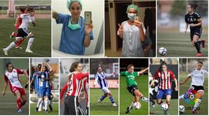 Las nueve futbolistas que compaginan el deporte profesional con la medicina