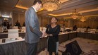Pau Gasol, con la Directora Ejecutiva del Sindicato de Jugadores, Michele Roberts