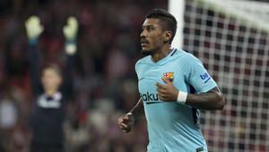 Paulinho pretende hacer un gran año en el Barça antes de ir al Mundial