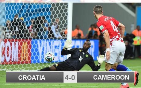 Perisic scored Croatia's second