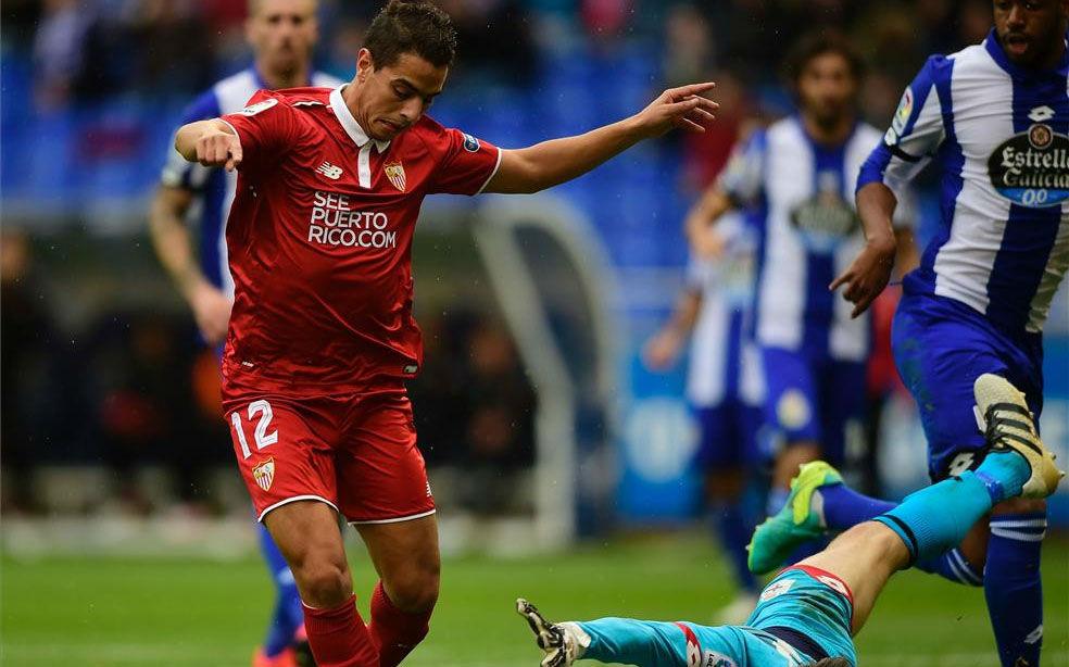 Video resumen Deportivo - Sevilla (2-3) . Jornada 12 Liga Santander 2016-17