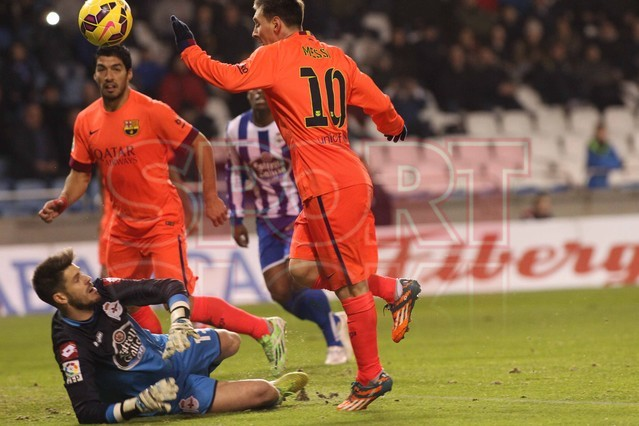 صور : مباراة ديبورتيفو لاكورونيا - برشلونة 0-4 ( 18-01-2015 )  1421614440163