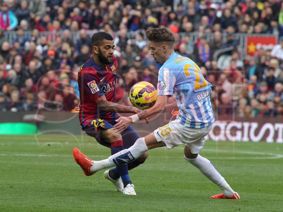 صور : مباراة برشلونة - ملقا  0-1 ( 21-02-2015 )  1424541252263