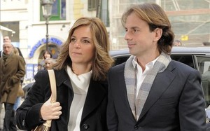 Arantxa y su marido fueron expulsados del tanatorio