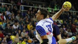 Adrià Figueras hizo un gran partido y marcó siete goles