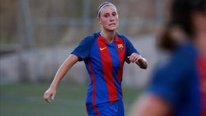 Gemma Gili marcó dos goles en la clara victoria en Zaragoza