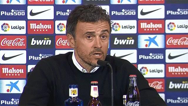 Las declaraciones de Luis Enrique tras vencer al Atlético