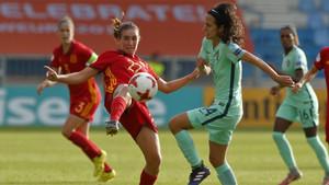Mariona fue una de las notas positivas en el debut de España en la Eurocopa