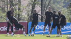 Messi no tiene piedad ni en los entrenamientos