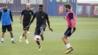 El Barça volvió al trabajo tras el triunfo ante el Betis