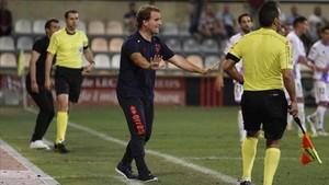 El Numancia de Jagoba Arrasate eliminó al Sporting de Gijón