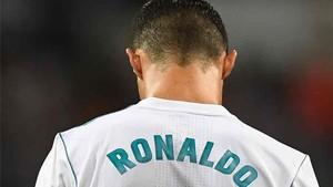 Un espontáneo lució la camiseta de Cristiano Ronaldo