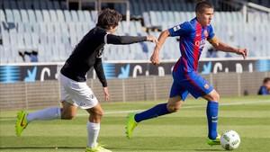 Sergi Palencia, cada vez más cerca de retornar a los terrenos de juego