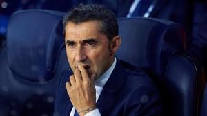 Valverde está viviendo una luna de miel en sus cien días en el Barcelona