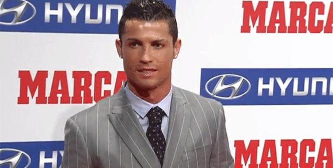 Cristiano recoge el premio 'Pichichi'