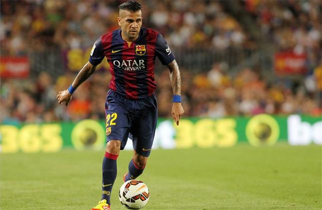 El Bar�a llega a un acuerdo con Alves