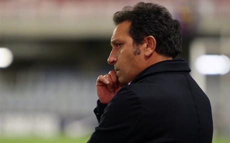 Eusebio, entrenador del filial