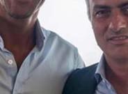 Ferdinando public� esta foto junto a Mourinho en su perfil de Facebook