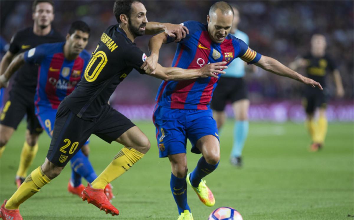 Pinchazo y... quinto punto que vuela del Camp Nou