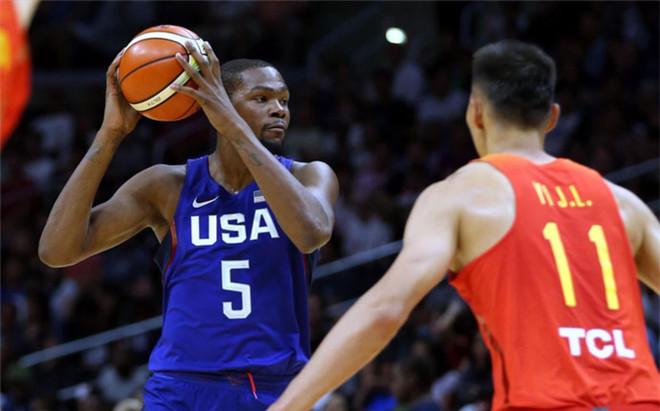 Kevin Durant lider� a la selecci�n de EEUU