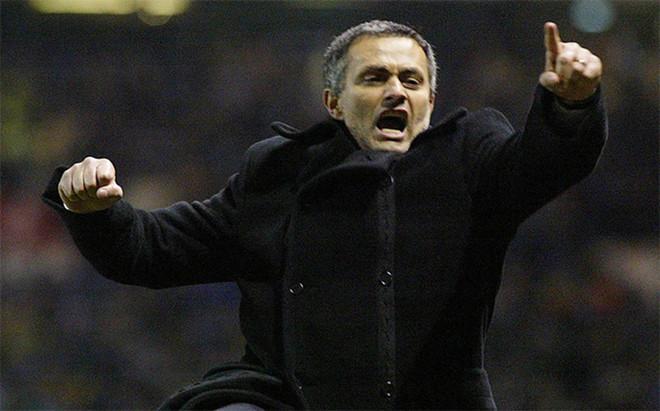 Mourinho dej� helado Old Trafford en 2004 cuando su Oporto ech� al Manchester de la Champions