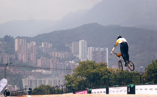 El Mundial de BMX se disputa en Medell�n