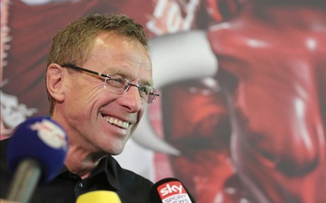Rangnick es el actual entrenador del Leipzig, ascendido esta temporada a la Bundesliga