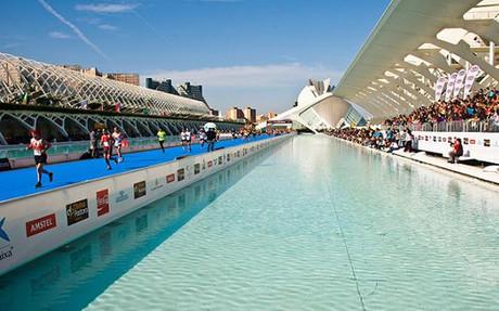 Una imagen de la Marat�n de Valencia en la edici�n de 2013